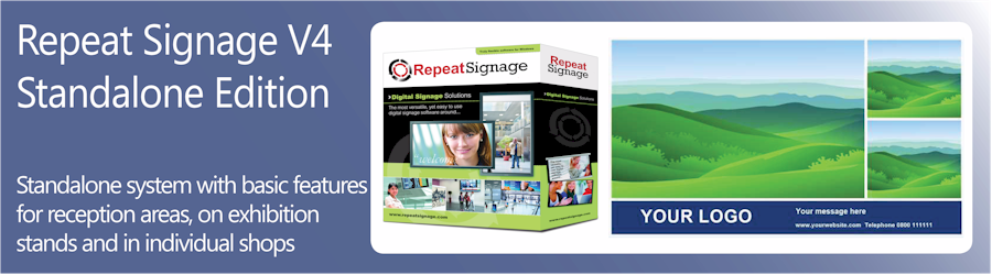 Repeat Signage Standalone software