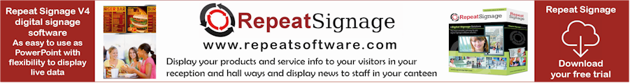 Repeat Signage digital signage software